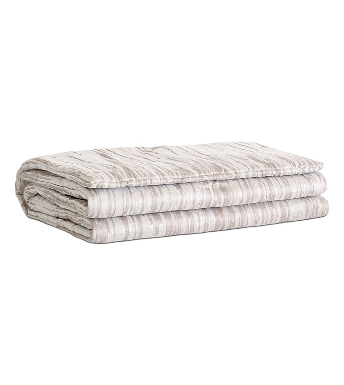 Horta Putty Bed Scarf - ,