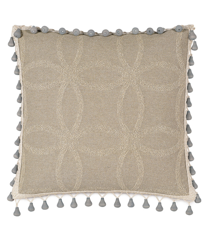 Silas With Beaded Trim - ,