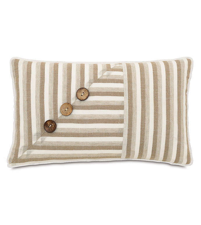 Linum Natural With Buttons - ,
