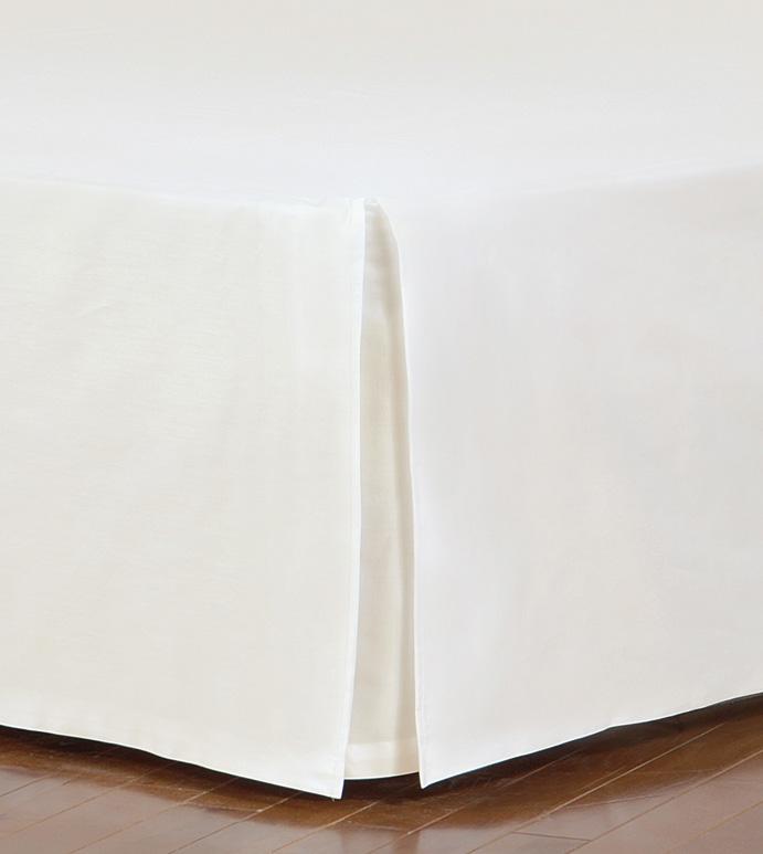 Fresco Classic Ivory Straight Bed Skirt
