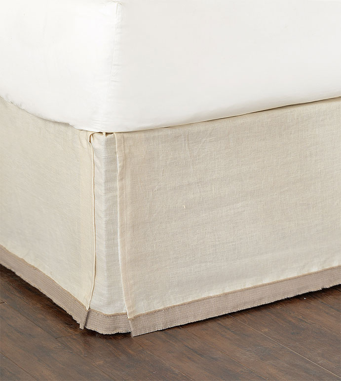 Breeze Pearl Bed Skirt
