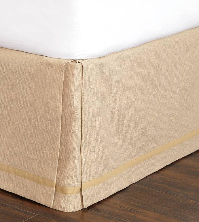 Walden Tan Bed Skirt