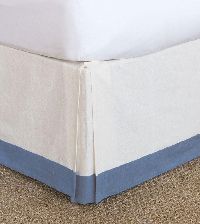 Filly White Bed Skirt