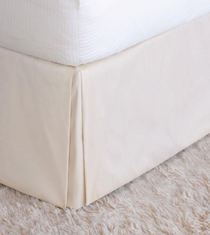 Edris Ivory Bed Skirt