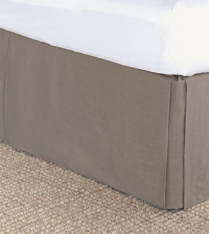 Resort Stone Bed Skirt - ,