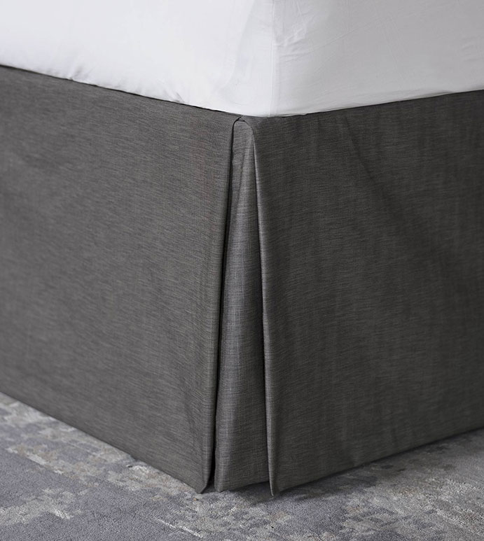 Indochine Pleated Bed Skirt
