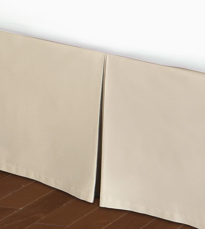 Deluca Almond Pleated Skirt Panel