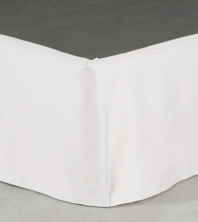 Fresco Classic White Straight Skirt Panels