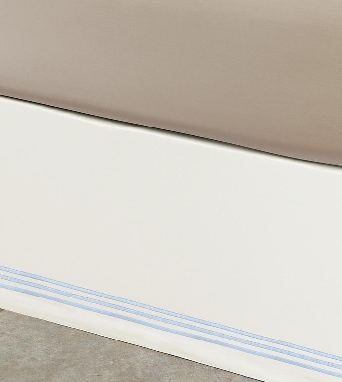 Tessa Ivory/Sky Skirt Panels