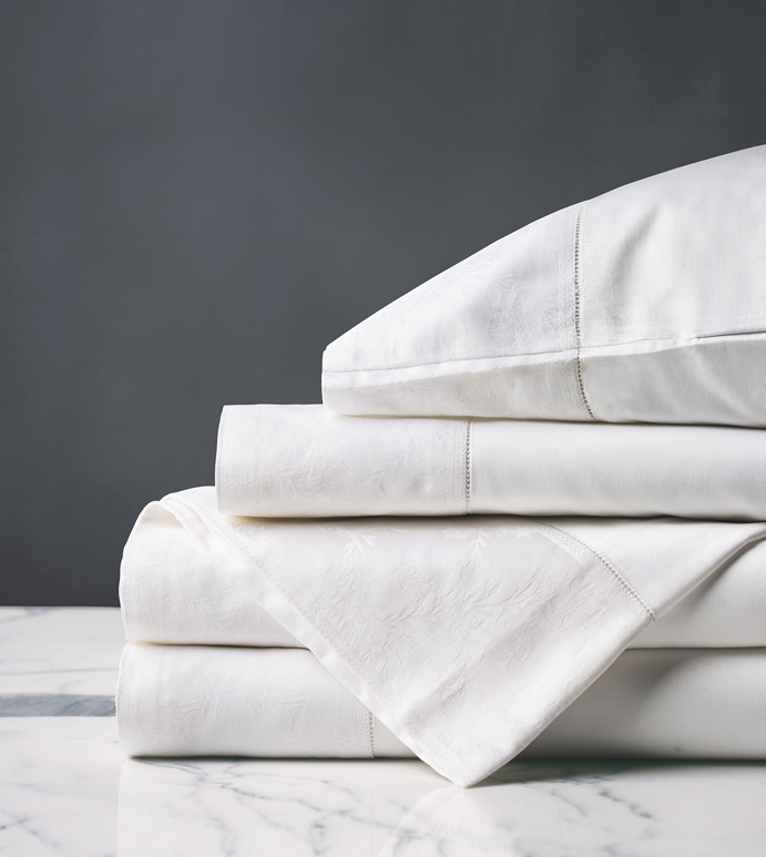 Millefleur White Sheet Set