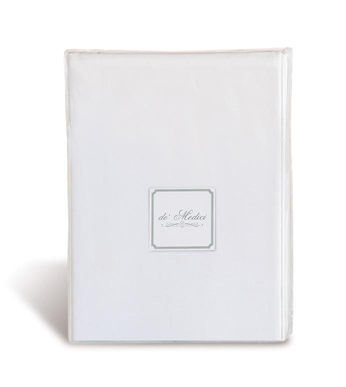 Fresco Luxe White Sheet Set