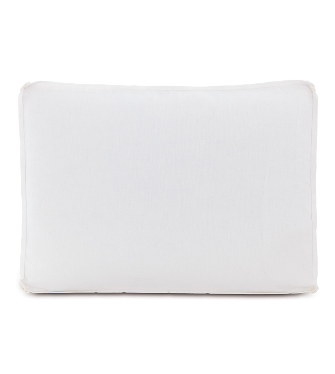 Leonara White Standard Sham - ,