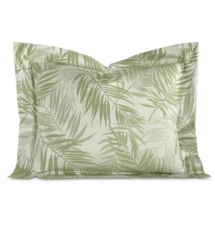 Isola Aloe Standard Sham - ,