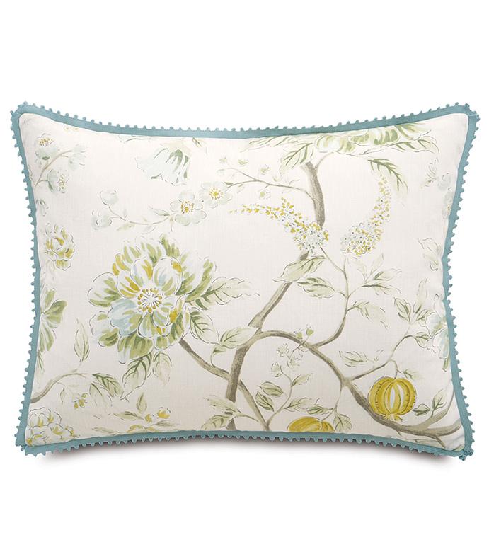 Magnolia Mint Standard Sham - ,
