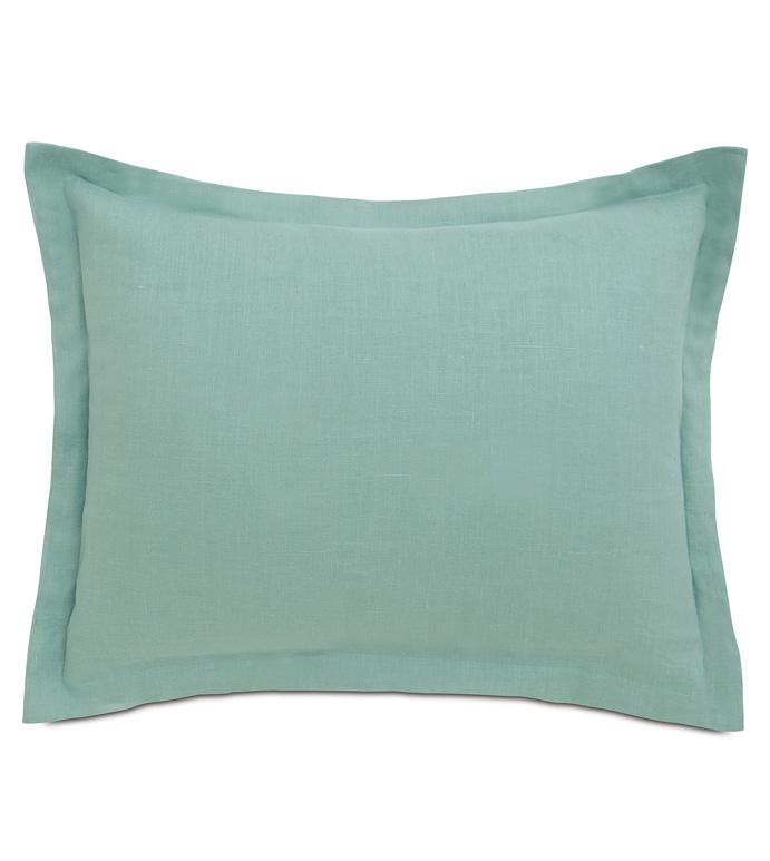 Breeze Aqua Standard Sham - ,