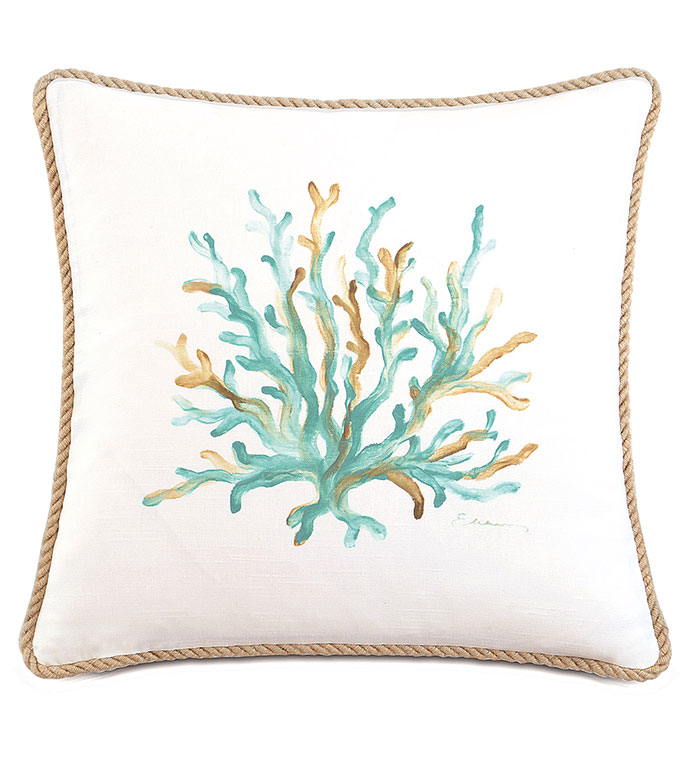 Sumba Hand-Painted Coral - ,