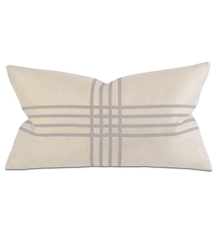 Reflection Gold Boudoir - pillow, throw pillow,embroidered pillow,metallic pillow,rectangle pillow,decorative  pillow,boudoir sham pillow,sham accent pillow,shinny pillow,feather pillow,zip closure pillow