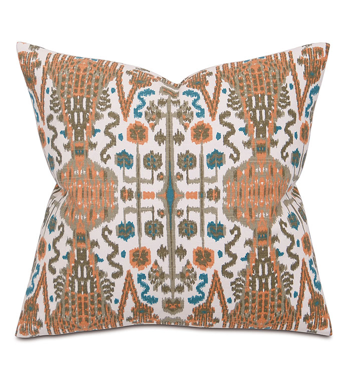 Brayden Sand - PILLOW,SOUTHWEST PILLOW,SQUARE PILLOW,PRINTED ACCENT PILLOW,THROW PILLOW,FEATHER PILLOW,PRINTED PILLOW PATTERN,ZIPPER CLOSURE PILLOW,ACCENT PILLOW,KNIFE EDGE FINISHING