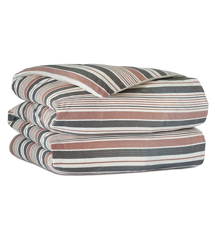 Chilmark Striped Duvet Cover