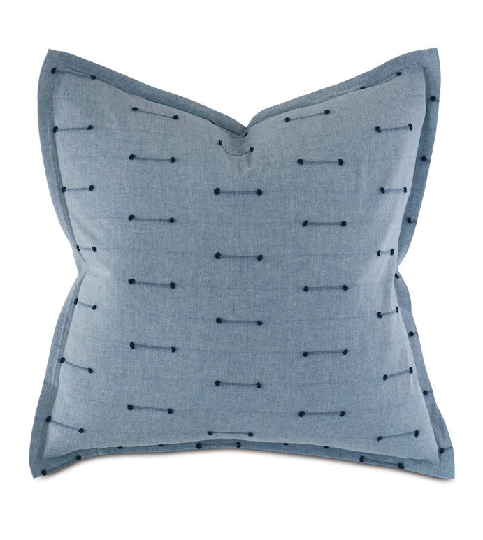 Lodi Fil Coupe Euro Sham - THOM FILICIA,CUT EMBROIDERY,EMBROIDERED,FIL COUPE,TEXTURED,LARGE,SQUARE,27X27,EURO SHAM,PILLOW,THROW PILLOW,DECORATIVE PILLOW,ACCENT PILLOW,LUXURY BEDDING