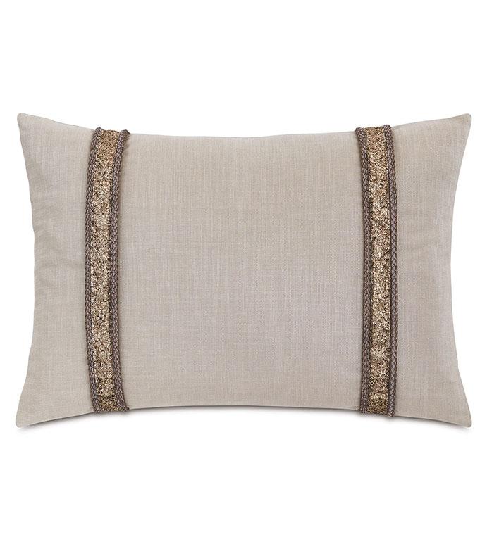Valentina Glitter Decorative Pillow - ,DECORATIVE PILLOW,DECOR,PILLOW,GLITTER,GLITTER PILLOW,RECTANGLE PILLOW,GOLD PILLOW,GOLD, BEIGE PILLOW,GLAM PILLOW,GLAM DECOR,LUXURY DECOR,GOLD GLITTER,