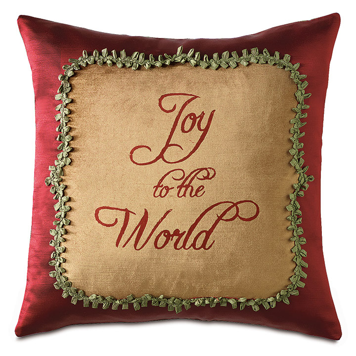 Lucerne Blockprinted Decorative Pillow