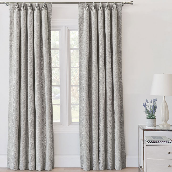 Liesl Faux Bois Curtain Panel
