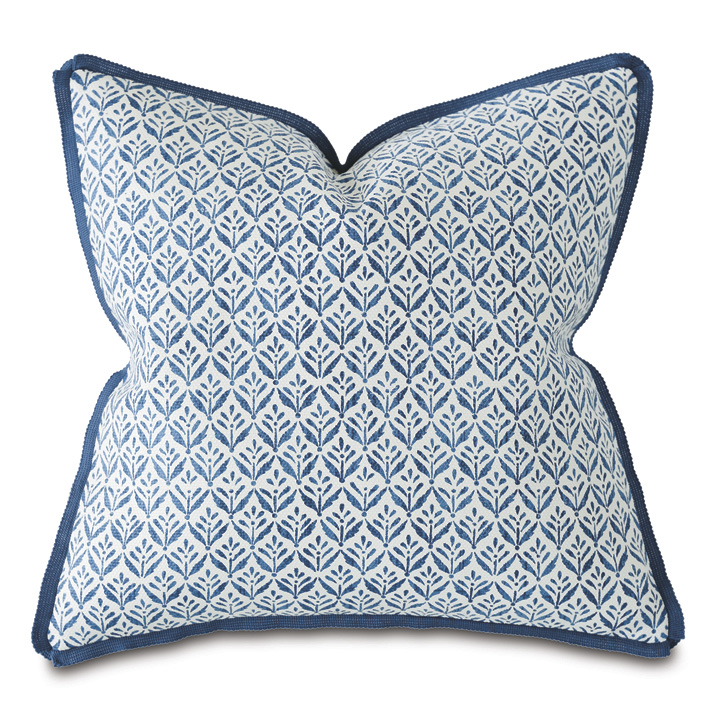 Capri Floral Print Decorative Pillow