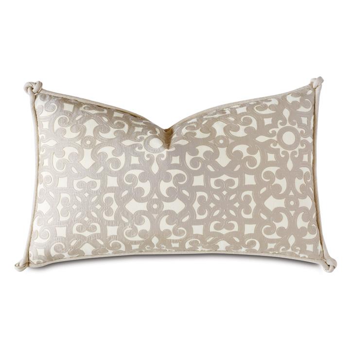 Dublin Applique Decorative Pillow