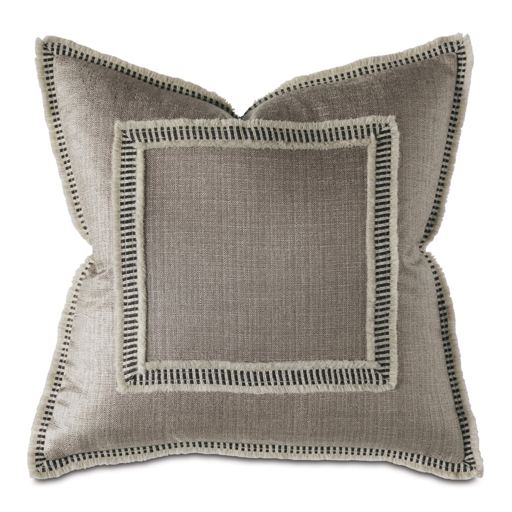 Tanzania Mini Fringe Decorative Pillow