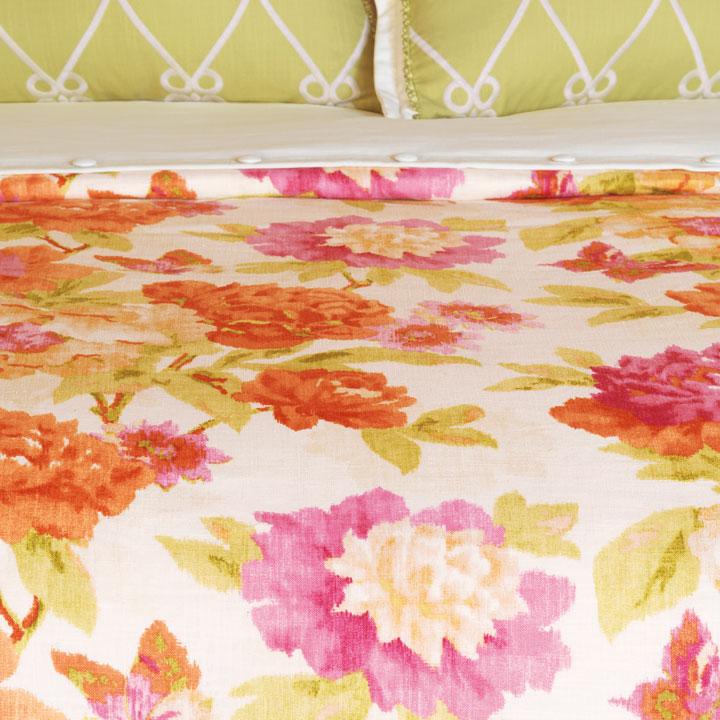 Caroline Azalea Duvet Cover and Comforter