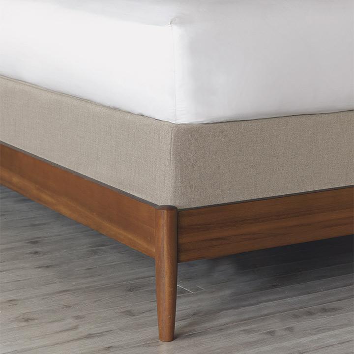 Greer Linen Box Spring Cover
