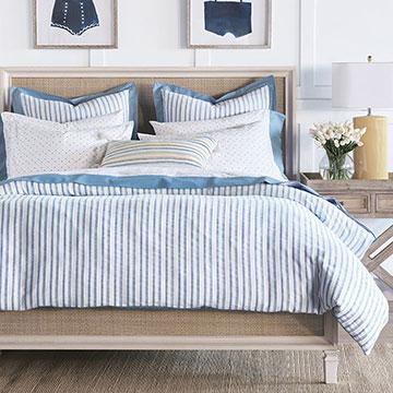 Fiddlesticks Fine Linen - ,1005 cotton,dobby pattern,kids bedding,embroidered bedding,luxury kids decor,kids fine linwn,blue bedding,cotton bedding,luxury bedding,