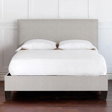 Malleo Upholstered Bed in Draper Slate