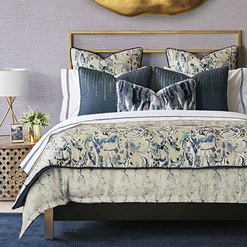 Tabitha - bedding,sheets,sheeting,glam bedding,purple bedding,boho bedding,glam purple bedding,purple glam bedding,purple faux fur,marble bedding,purple marble bedding,