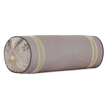 Evie Lace Border Bolster
