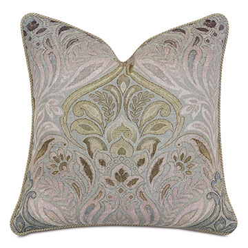 Evie Damask Decorative Pillow