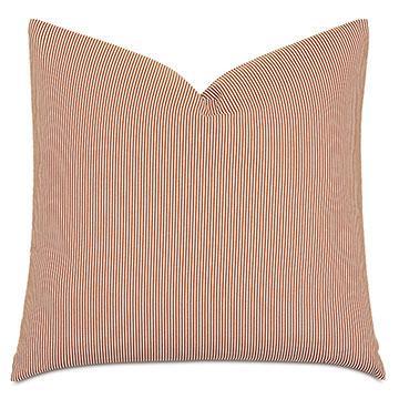 Marguerite Candy Stripe Decorative Pillow