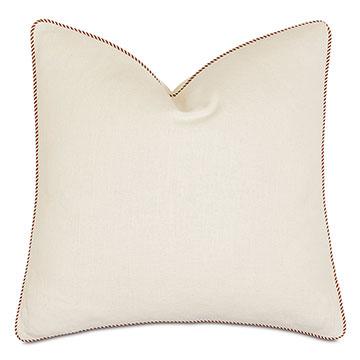 Marguerite Striped Welt Decorative Pillow