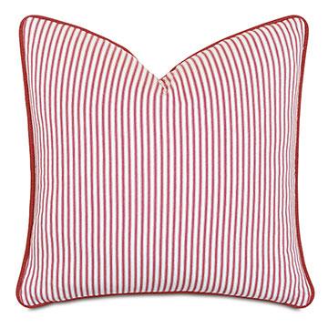 Percival Striped Decorative Pillow