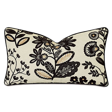 Lars Embroidered Decorative Pillow