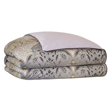 Evie Damask Duvet Cover and Comforter