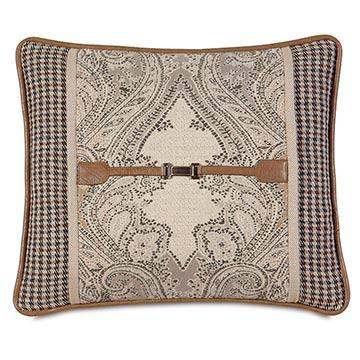 Aiden Buckle Decorative Pillow