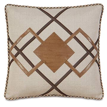 Aiden Diamond Decorative Pillow