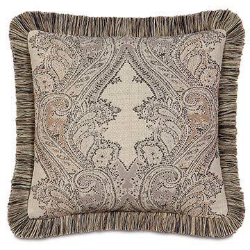Aiden Damask Decorative Pillow