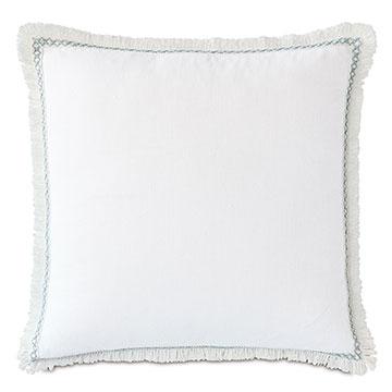 Amberlynn Loop Trim Decorative Pillow
