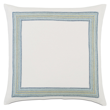 Breeze Shell With Mitered Border