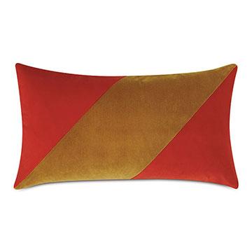 Mackay Color Block Decorative Pillow