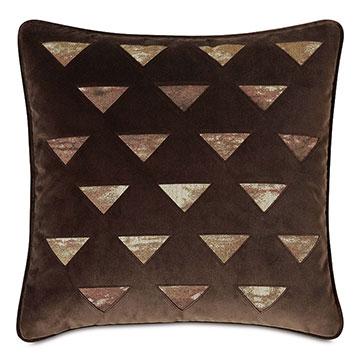 Fossil Lasercut Decorative Pillow