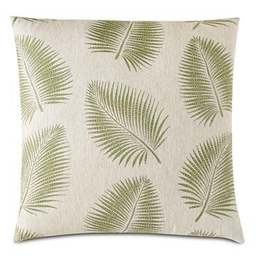 Areca Palm Leaf Decorative Pillow